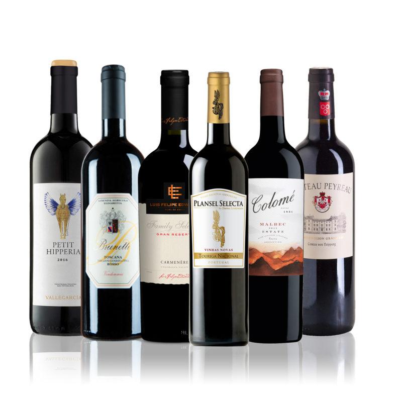 Rotwein Geschenk Paket Weinshop