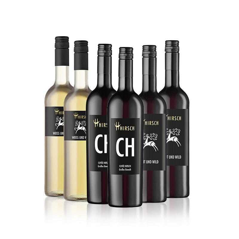 Hirsch ist Wild Weingut Weinhandel